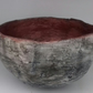 Hand made decorative  bowl -grey and copper- coffee table