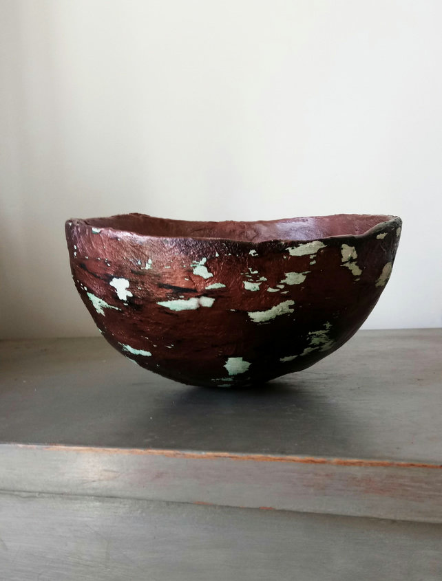 Hand made decorative bowl, coffee table bowl. Free shipping