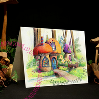 Barley Twist Cottage - Mushroom Town Collection