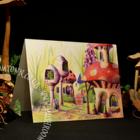 Ink Cap Cottage - Mushroom Town Collection