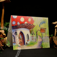 Rose Cottage - Mushroom Town Collection