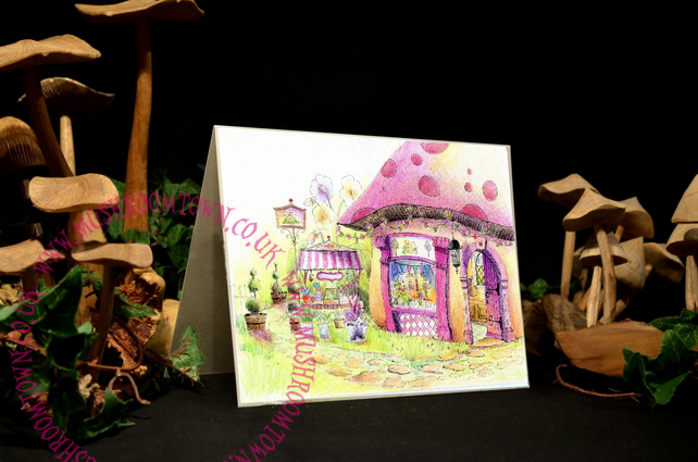 The Florists Shop - Mushroom Town Collection