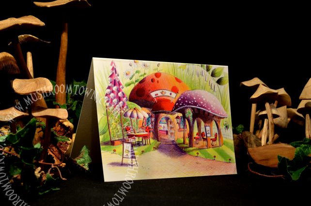 The Coffee Shop - Mushroom Town Collection