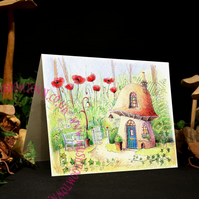 Poppy Cottage - Mushroom Town Collection