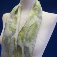 Pure Silk Eco-Printed Scarf