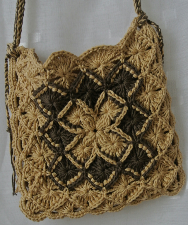 Crochet Crossover Handbag