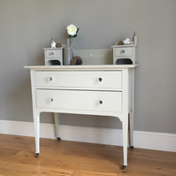 Vintage Painted Dressing Table (delivery quote available on request)