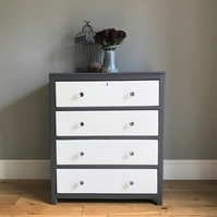 Vintage Painted Chest of Drawers (delivery quote available on request)