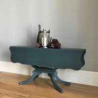 Drop Leaf Vintage Painted Coffee Table (delivery quote available on request)