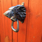 House Stark Direwolf Door knocker - Game of Thrones front door - 3D Printed