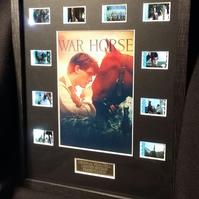 War Horse  -   Mains free back lit framed movie cells