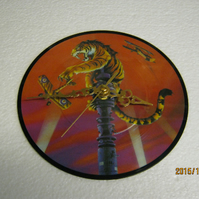 "Tygers Of Pan Tang - ""Love Potion No.9"" 7"" Picture Disc Vinyl Record Wall Clock"