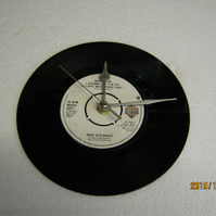 "Rod Stewart - ""What Am I Gonna Do"" 7"" Vinyl Record Wall Clock"