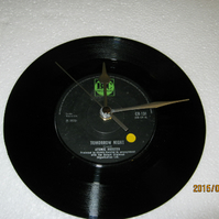 "Atomic Rooster - ""Tomorrow Night"" 7"" Vinyl Record Wall Clock"