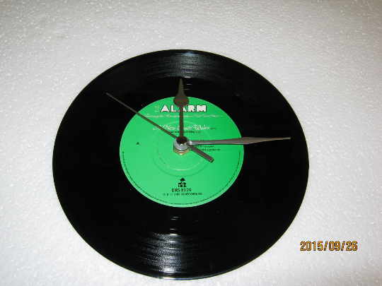"The Alarm - ""A New South Wales"" 7"" Vinyl Record Wall Clock"