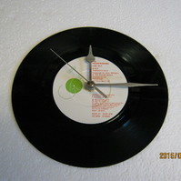 "The Housemartins - Build"" 7"" Vinyl Record Wall Clock"