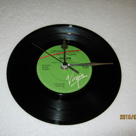 "Gillan - ""No Laughing In Heaven"" 7"" Vinyl Record Wall Clock"