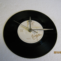 "Gillan - ""New Orleans"" 7"" Vinyl Record Wall Clock"
