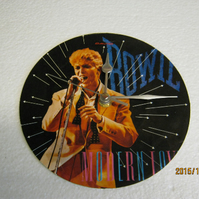 "David Bowie - ""Modern Love"" 7"" Vinyl Record Sleeve Wall Clock"