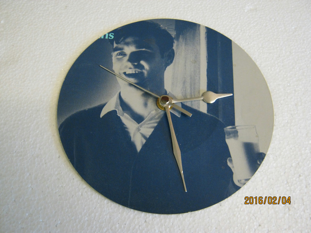 "The Smiths - ""What Difference Does It Make?"" 7"" Vinyl Record Sleeve Wall Clock"