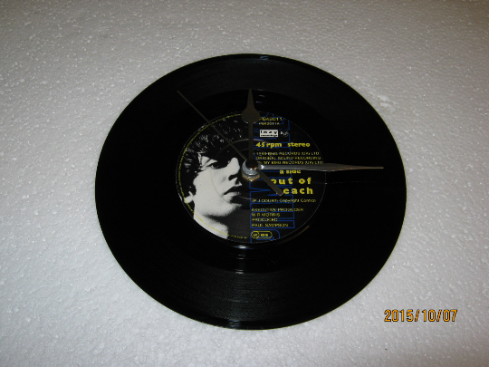 "The Primitives - ""Out Of Reach"" 7"" Vinyl Record Wall Clock"