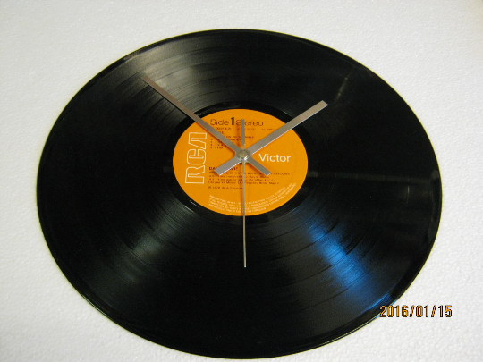 "David Bowie - ""Stage"" 12"" Vinyl Record Wall Clock"