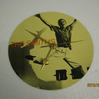 "The Smiths - ""The Boy With The Thorn In His Side"" 7"" Vinyl Record Sleeve Clock"