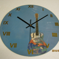 "Dire Straits - ""Brothers In Arms"" 12"" Numerical Album Sleeve Wall Clock"