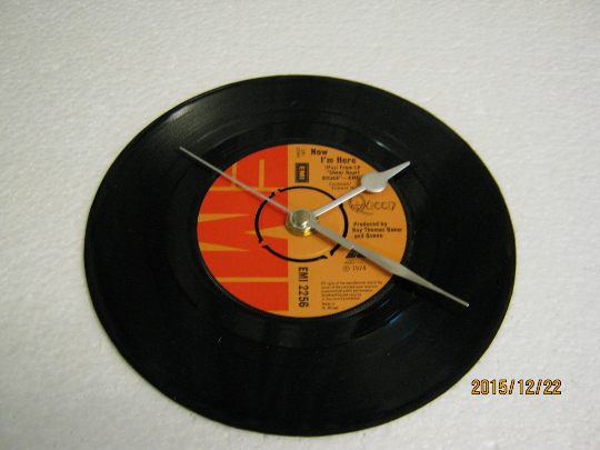 "Queen - ""Now I'm Here"" 7"" Vinyl Record Wall Clock"