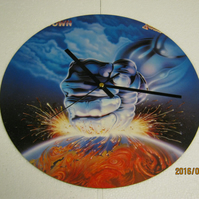 "Judas Priest - ""Ram It Down"" 12"" Vinyl Record Sleeve Wall Clock"