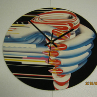 "Judas Priest - ""Turbo"" 12"" Vinyl Record Sleeve Wall Clock"