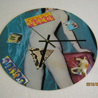 "The Rolling Stones - ""Undercover"" 12"" Vinyl Record Sleeve Wall Clock"