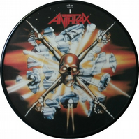 "Anthrax - ""Bring The Noise"" Vinyl Record Wall Clock"
