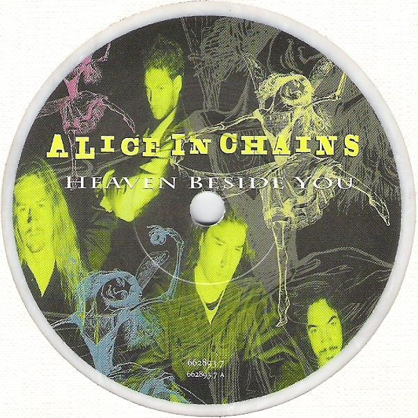 "Alice In Chains - ""Heaven Beside You"" Vinyl Record Wall Clock"