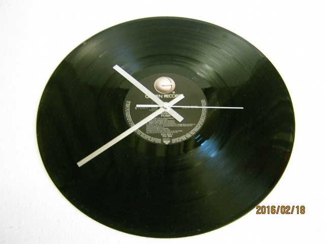 "Aerosmith - ""Pump"" Vinyl Record Wall Clock"