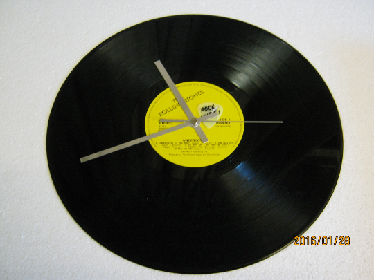 "The Rolling Stones - ""Undercover"" Vinyl Record Wall Clock"