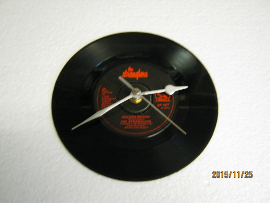 "The Stranglers - ""Golden Brown"" Record Wall Clock"