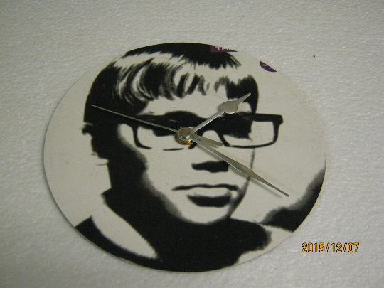 "Therapy - ""Trigger Inside"" Record Sleeve Wall Clock"