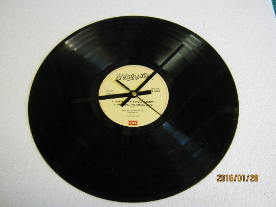 "Marillion - ""Garden Party"" Record Wall Clock"