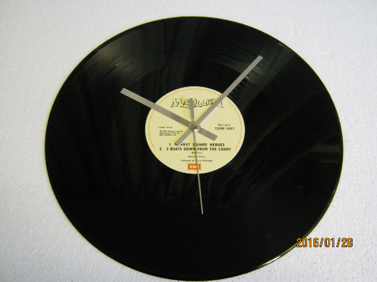 "Marillion - ""Market Square Heroes"" Record Wall Clock"