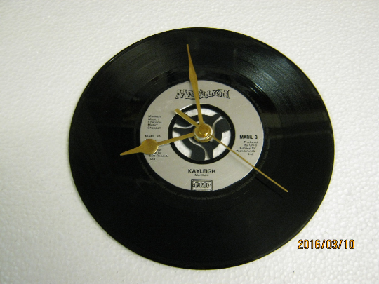 "Marillion - ""Kayleigh"" Record Wall Clock"