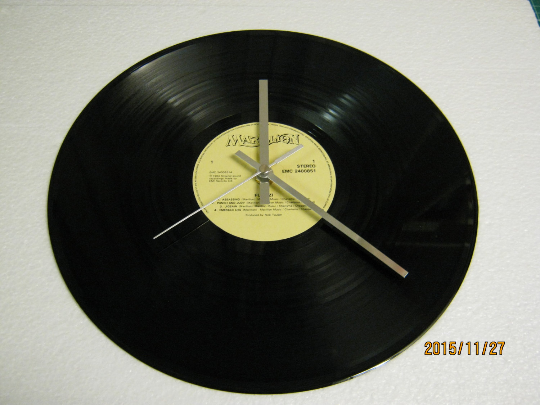 "Marillion - ""Fugazi"" Record Wall Clock"