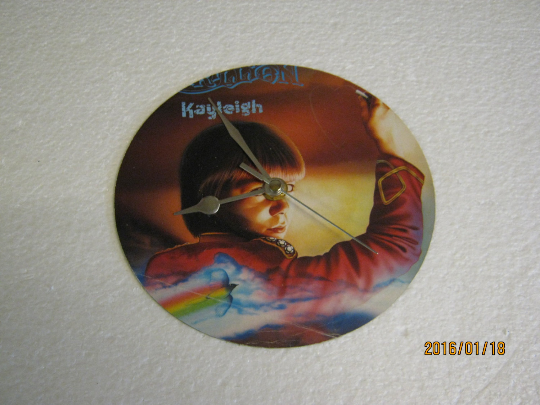 "Marillion - ""Kayleigh"" Record Sleeve Wall Clock"
