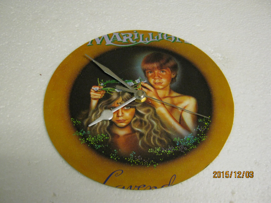"Marillion- ""Lavender"" Record Sleeve Wall Clock"