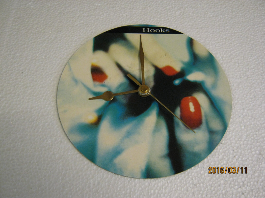 "Marillion - ""Hooks In You"" Record Sleeve Wall Clock"