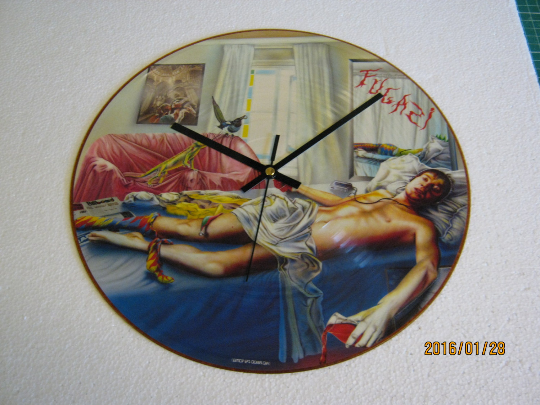 "Marillion - ""Fugazi"" Picture Disc Record Wall Clock"