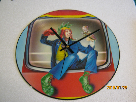 "Marillion - ""Punch And Judy"" Picture Disc Record Wall Clock"