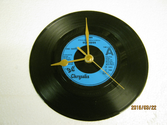 "Ultravox - ""Hymn"" Record Wall Clock"