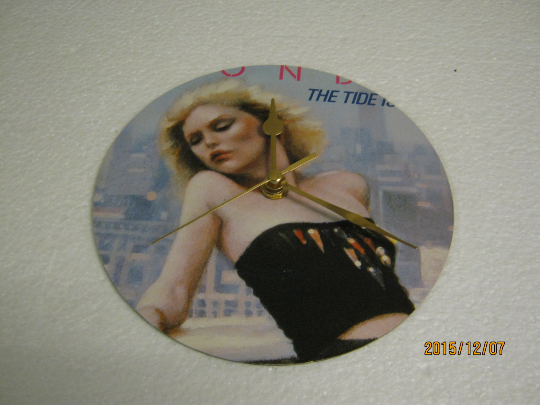 "Blondie - ""The Tide Is High"" Record Sleeve Wall Clock"