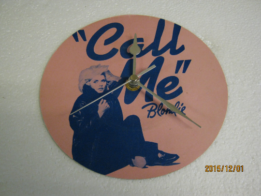 "Blondie - ""Call Me"" Record Sleeve Wall Clock"